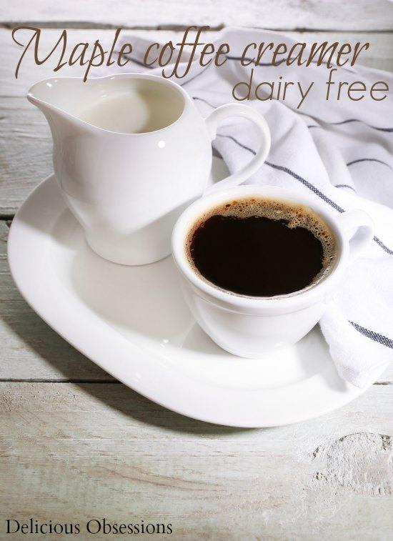 Dairy-Free Maple Coffee Creamer