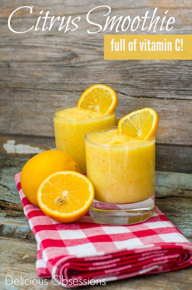 Citrus Smoothie :: Dairy-Free, Gluten-Free, Grain-Free