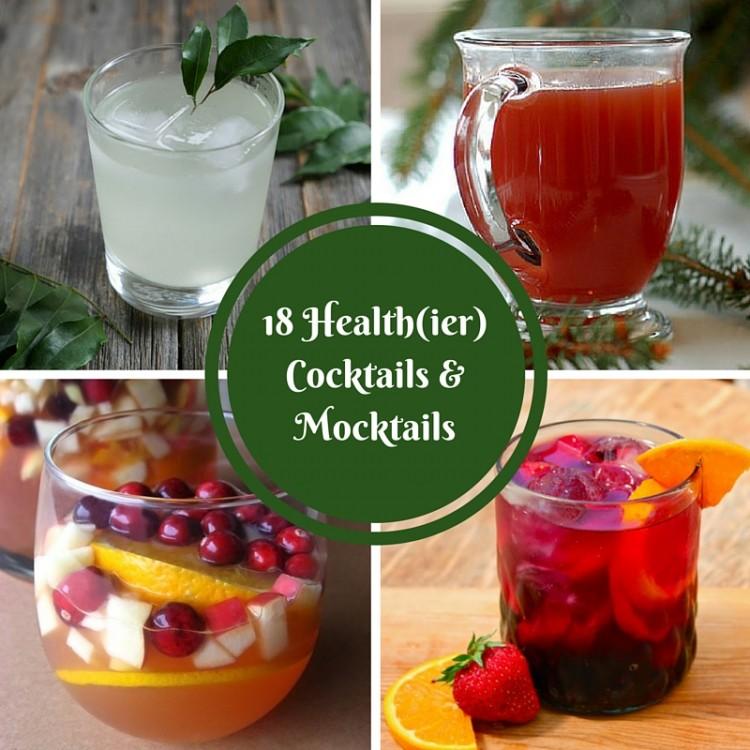 18 Health(ier) Cocktails & Mocktails