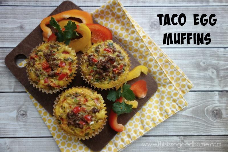 Taco Egg Muffins :: Grain-Free, Gluten-Free, Dairy-Free