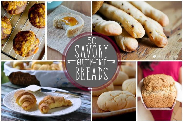 50 Savory Gluten-Free Breads