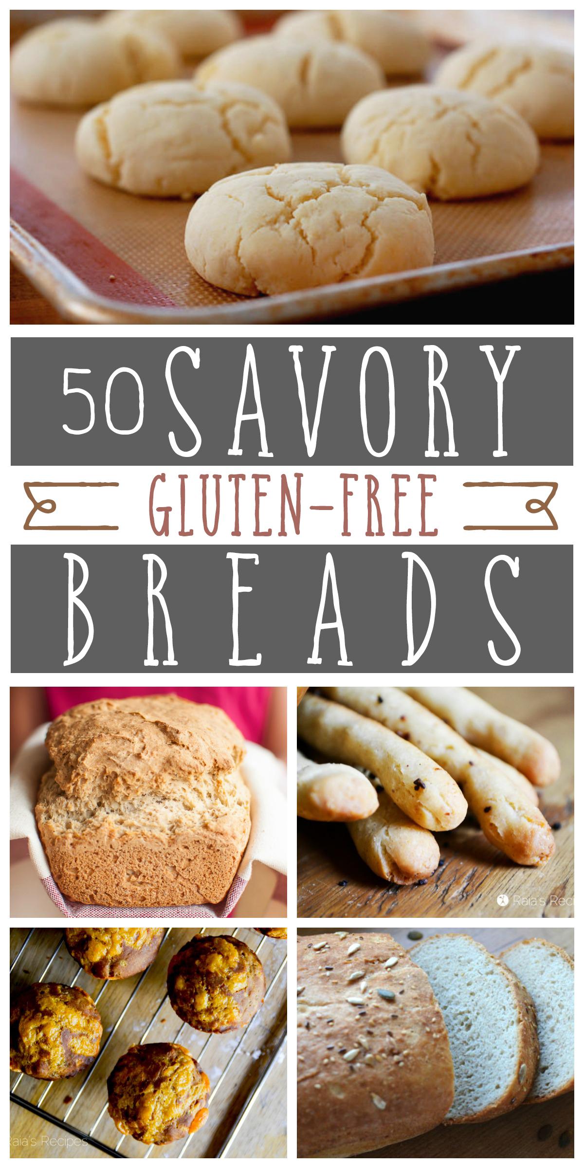 50 Savory Gluten Free Breads