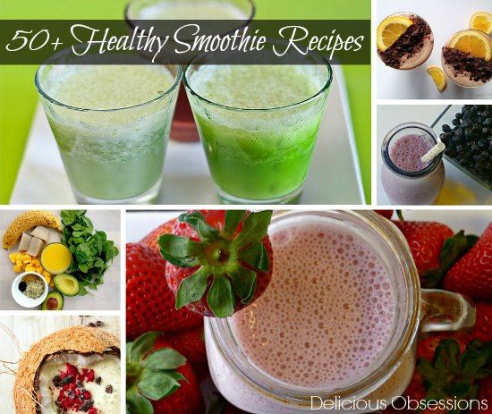 50+ Healthy Smoothie Recipes :: Dairy-Free, Gluten-Free, Paleo & Primal