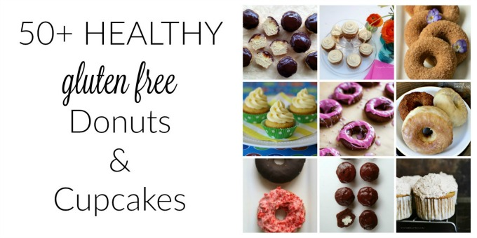 50+ Healthy Gluten-Free Donuts & Cupcakes