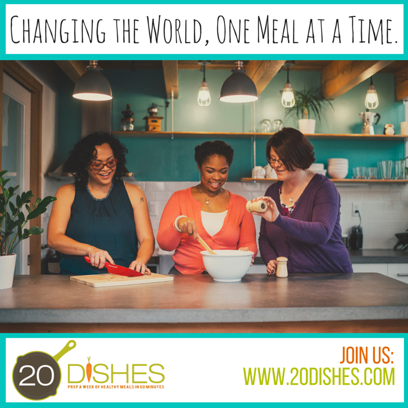 How I am Changing the Landscape of Real Food, One Meal at a Time (and you can help!)