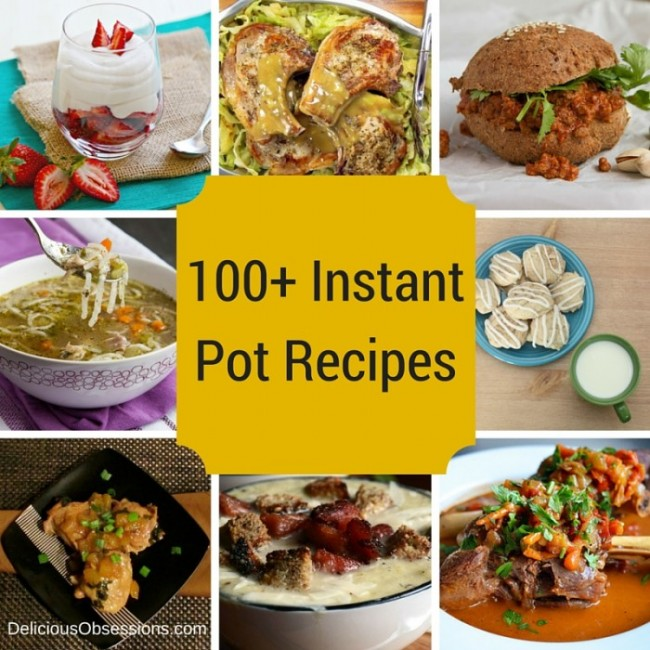 100+ Instant Pot Recipes :: Paleo, Primal, Gluten-Free, Grain-Free, Dairy-Free // deliciousobsessions.com