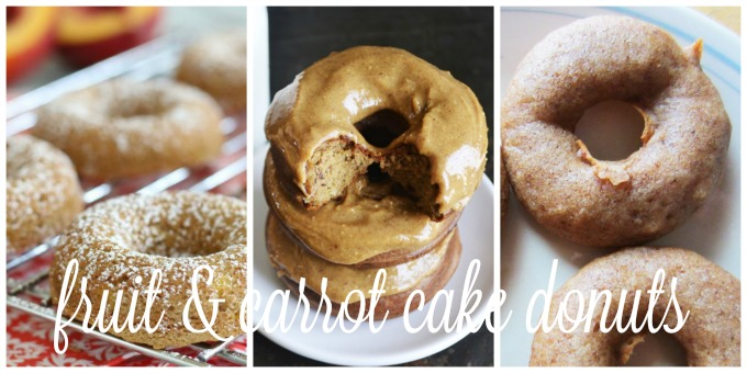 Fruit & Carrot Cake Donuts | Delicious Obsessions