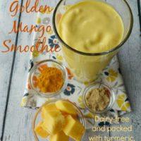 Golden Mango Smoothie :: Gluten-Free, Grain-Free, Dairy-Free
