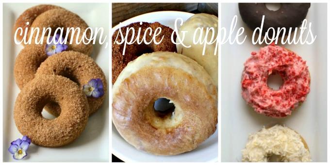 Cinnamon, Spice & Apple Donuts | Delicious Obsessions