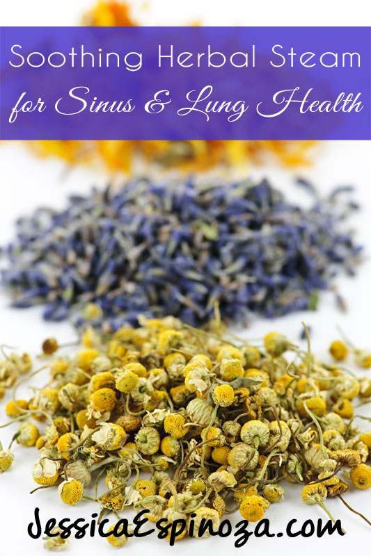 Soothing Herbal Salt Steam for Lung and Sinus Health