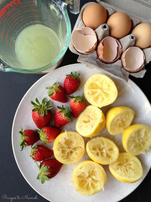 Lemon Custard Berry Parfait | Delicious Obsessions