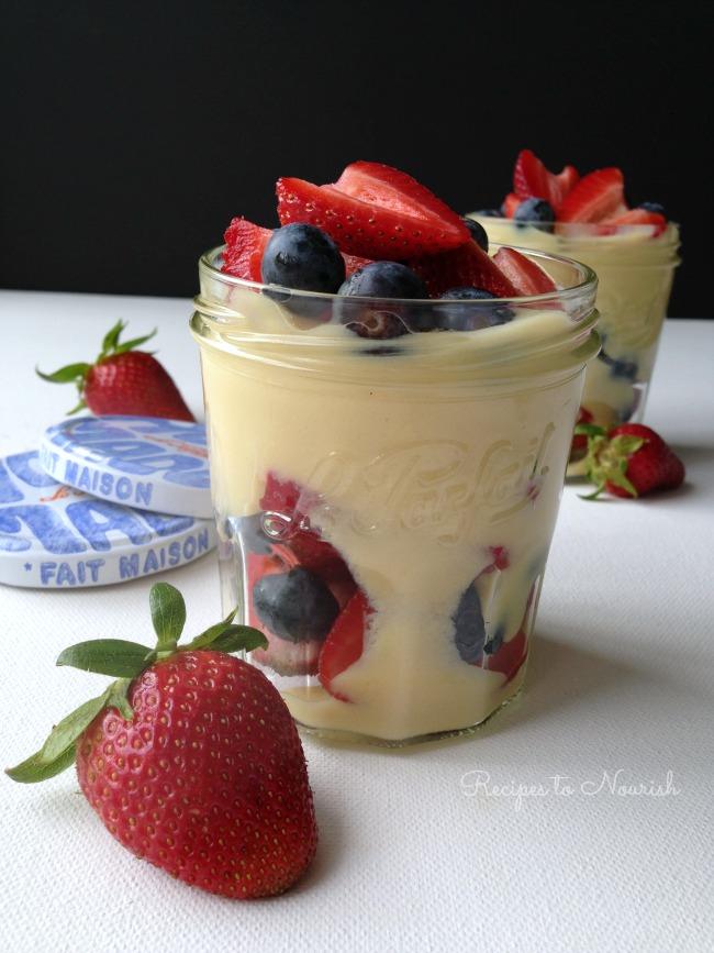 Lemon Custard Parfait | Delicious Obsessions