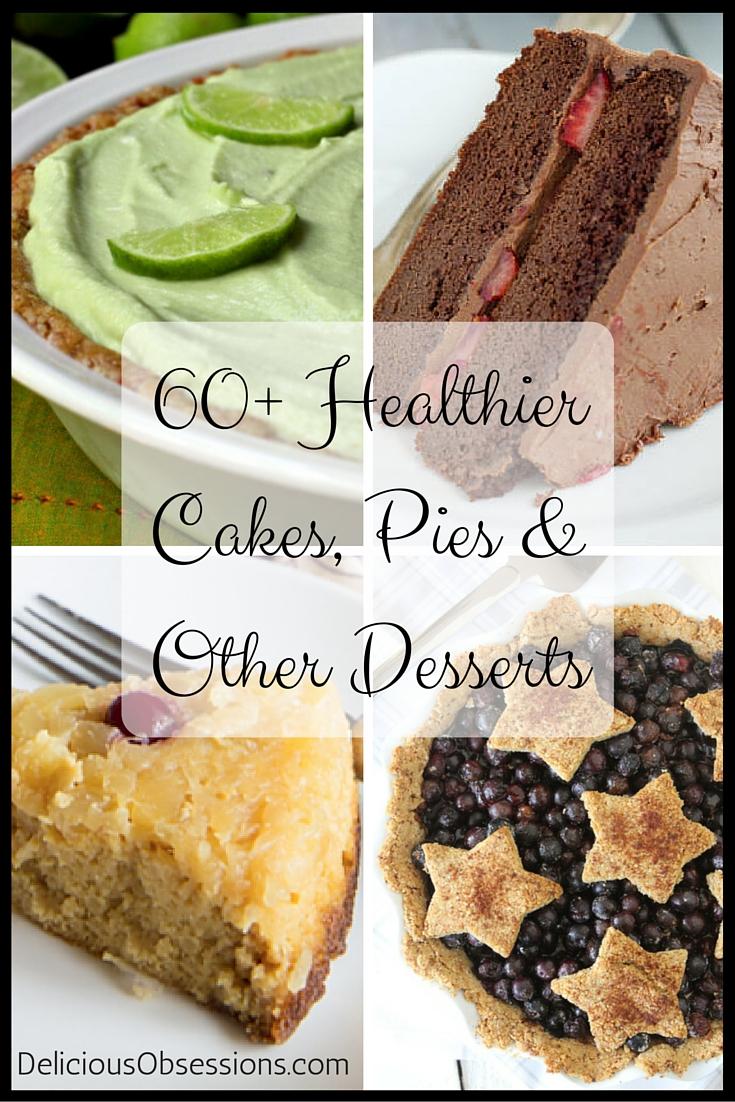 60+ Healthier Cakes, Pies & Other Desserts :: Gluten, Grain, & Dairy-Free