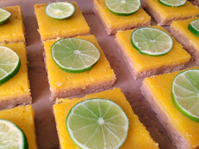 Grain Free Lime Bars | Delicious Obesssions