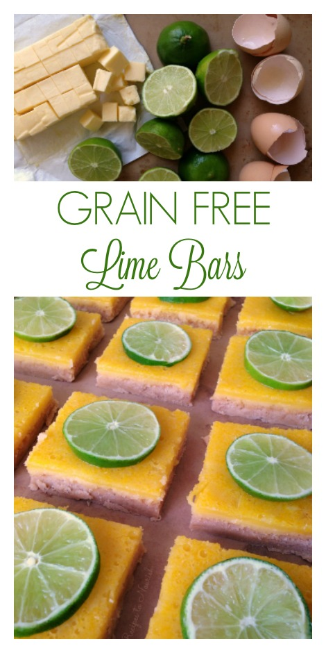 Grain Free Lime Bars :: Delicious Obessions
