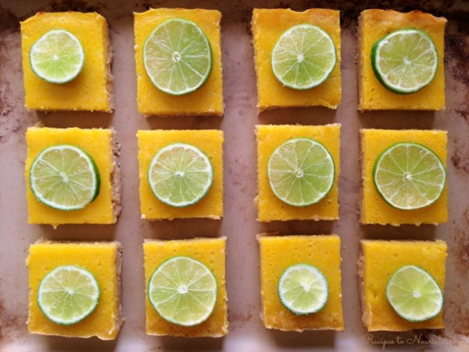Grain-Free Lime Bars