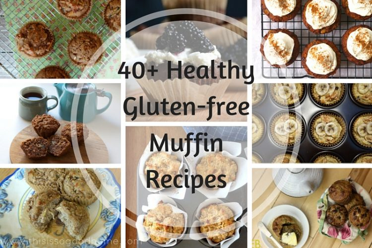 40+ Healthy and Gluten-free Muffin Recipes // deliciousobsessions.com