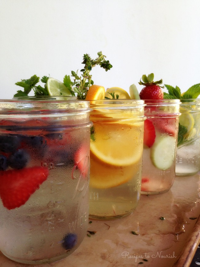 10 Hydrating Infused Waters Recipes - Delicious Obsessions