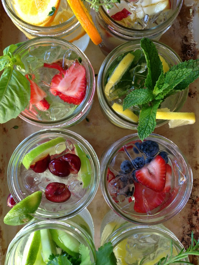 10 Hydrating Infused Waters Recipes :: Delicious Obsessions