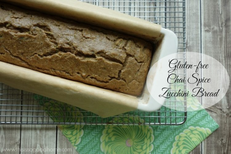 Chai Spice Zucchini Bread :: Gluten & Grain-Free // deliciousobsessions.com