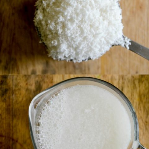 Easy Homemade Coconut Milk
