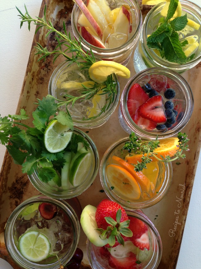 10 Hydrating Infused Waters Recipes   Delicious Obsessions