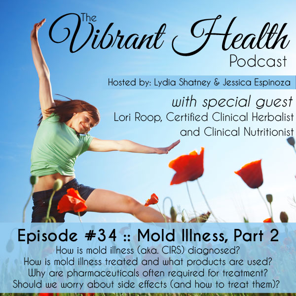 The VH Podcast, Episode 34: Mold Illness 102 // deliciousobsessions.com