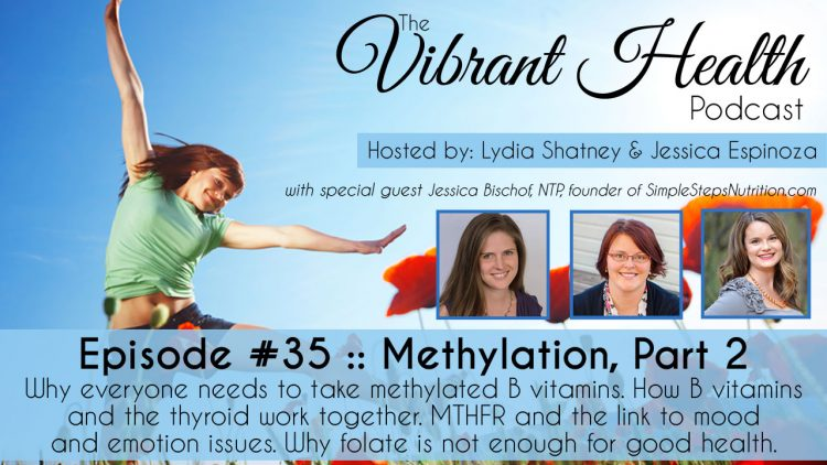 The VH Podcast, Episode 35: Methylation 201 // deliciousobsessions.com