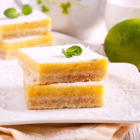 Grain-Free Lime Bars :: Gluten-Free, Refined Sugar-Free, Dairy-Free Option