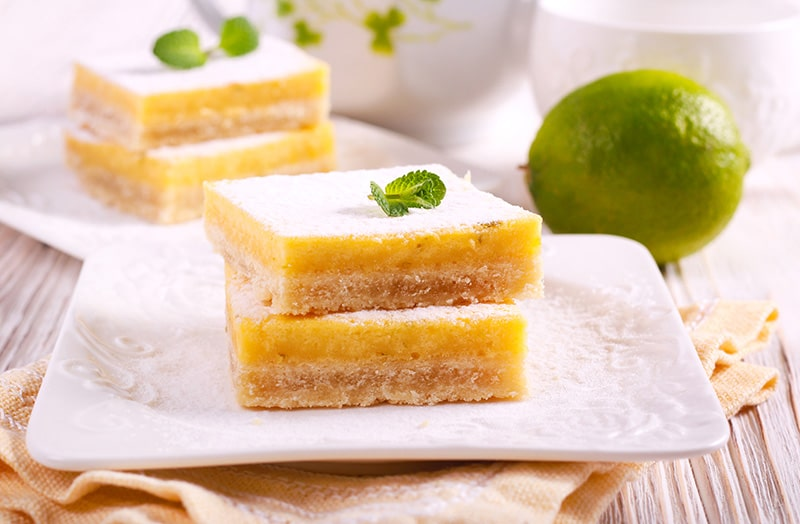 Grain-Free Lime Bars :: Gluten-Free, Refined Sugar-Free, Dairy-Free Option