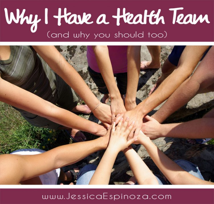 Why I Have a Health Team (and Why You Should Too) // deliciousobsessions.com