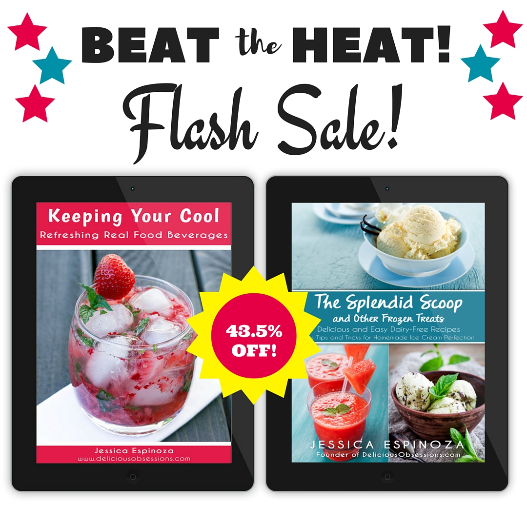 Beat The Heat Summer Blowout! Snag My eBooks For Cheap! // deliciousobsessions.com
