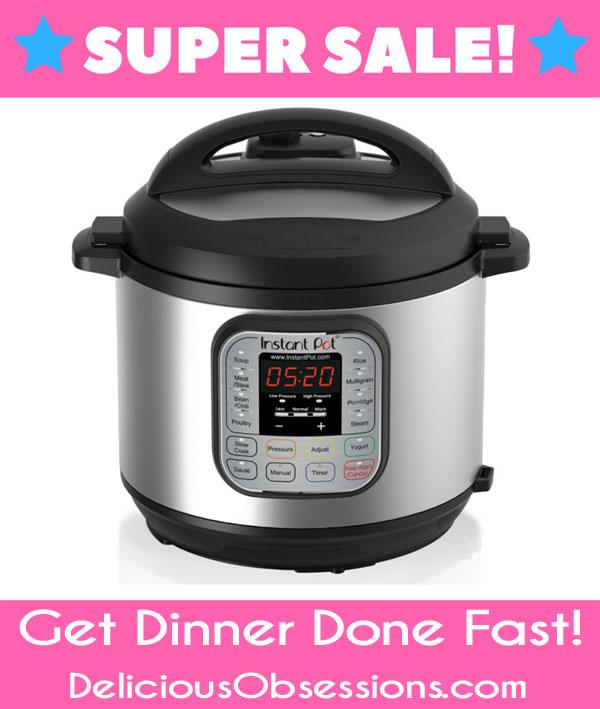 Instant Pot Super Sale // deliciousobsessions.com