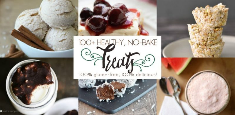 100+ Healthy No-Bake Gluten-Free Treats