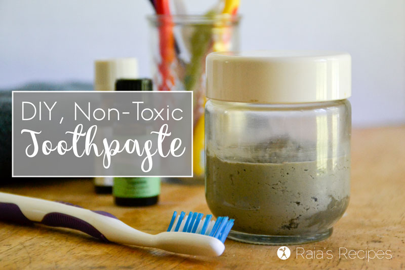 Easy DIY Non-Toxic Toothpaste