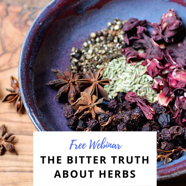 The Bitter Truth About Herbs {FREE Webinar} // deliciousobsessions.com