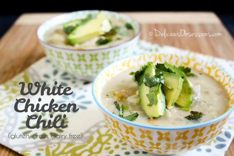 White Chicken Chili :: Gluten-Free, Grain-Free, Dairy-Free