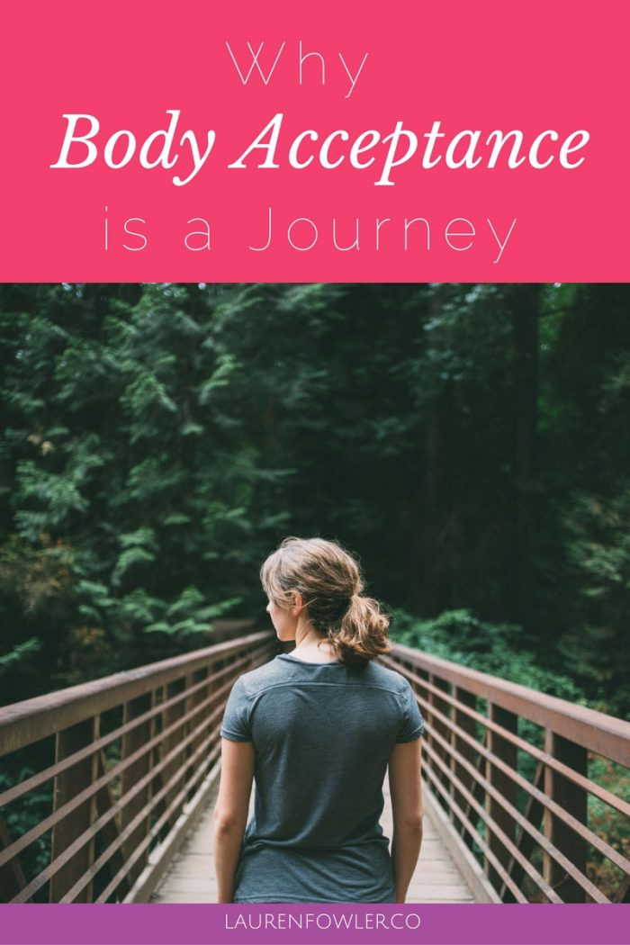 Why Body Acceptance is a Journey // deliciousobsessions.com