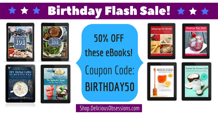 It's My Birthday! Let's Celebrate With 50% OFF My eBooks