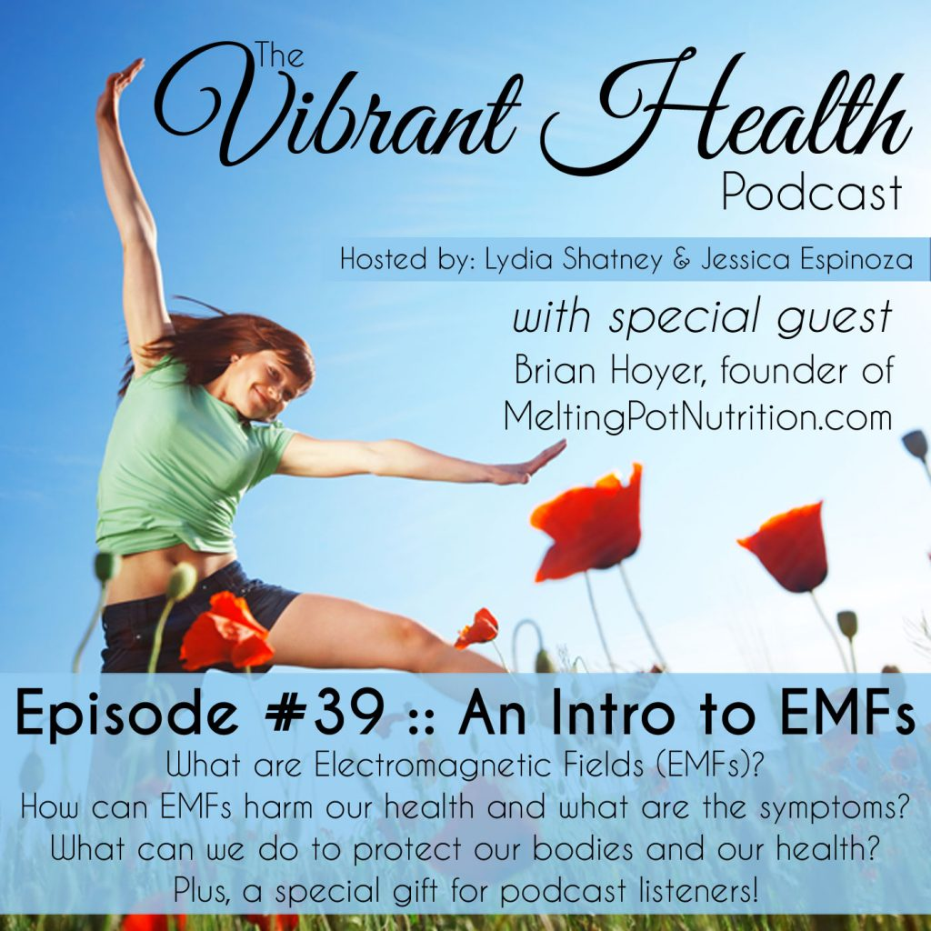 The VH Podcast, Episode 39: Intro to EMFs // DeliciousObsessions.com