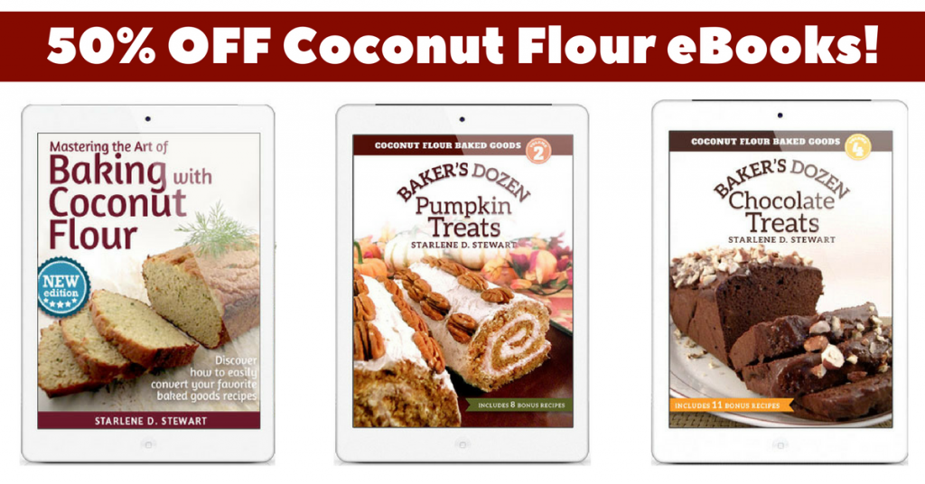 Support small businesses with these great deals time sensitive one of my favorite ebook authors is my friend starlene over at gaps diet journey she is the coconut flour master and her books and expertise has saved me fandeluxe Images