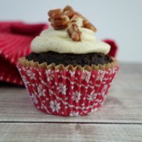 Gingerbread Cupcakes with Vanilla Bean Frosting :: Paleo, Gluten-Free, Grain-Free, Dairy-Free