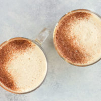 Frothy Golden Milk Hot Chocolate :: Dairy-Free Option