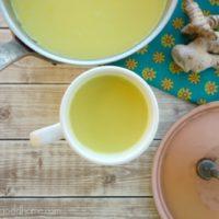 How to Make Golden Broth :: Gluten-Free, Grain-Free, Dairy-Free, Paleo