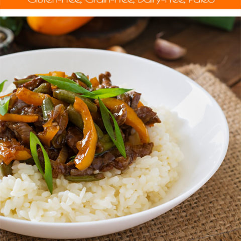 Instant Pot Spicy Orange Beef :: Gluten-Free, Grain-Free, Dairy-Free, Paleo