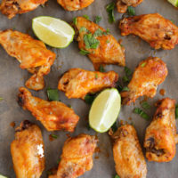 Red Curry Chicken Wings :: Gluten-Free, Grain-Free, Dairy-Free, Whole30®, Paleo, Primal