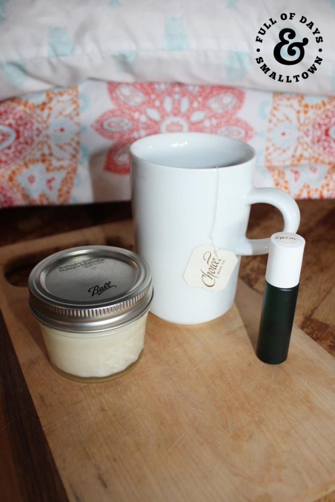 DIY Vapor Chest Rub Vertical Tea and Essential Oils