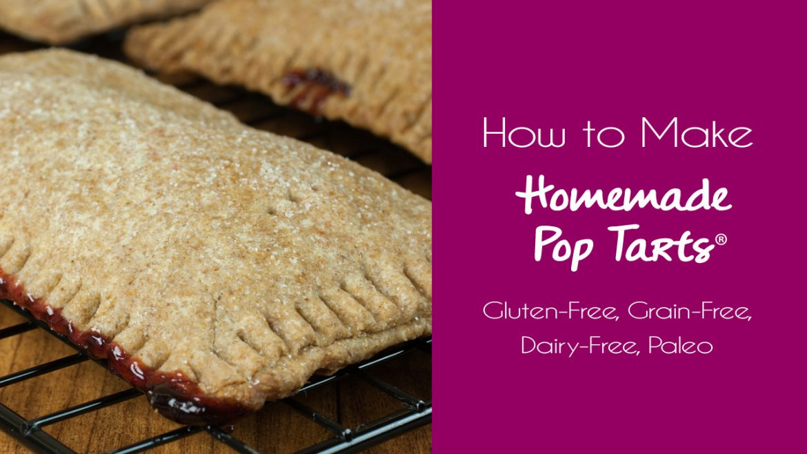 Junk Food Made Real: Homemade Pop Tarts® :: Gluten-Free, Grain-Free, Refined Sugar-Free, Dairy-Free Option