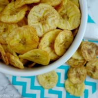 How to Make Plantain Chips :: Gluten-Free, Grain-Free, Dairy-Free, Paleo