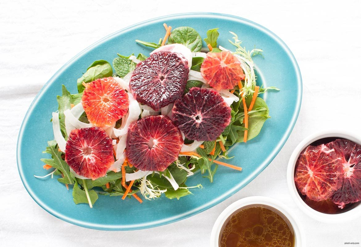 Blood Orange and Pickled Fennel Salad :: Gluten-Free, Grain-Free, Dairy-Free